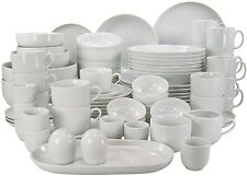 Creatable 80-Piece Dinner Set Serve Dish Home Kitchen Dishwasher/Microwave Safe
