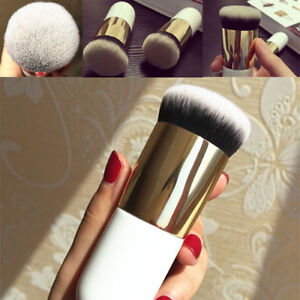Pro Flat Foundation Face Blush Kabuki Powder Contour Makeup Brush Cosmetic Tools