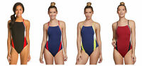 SPEEDO Women's Launch Splice Endurance Swimsuit 8191409 $79 NWT