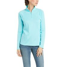 NEW Ariat Sunstopper 2.0 1/4 Zip Baselayer - Cool Blue - Various Sizes