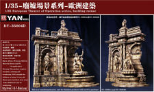 Crazy King 35004D 1/35 WWII European architecture Type 4 Diorama Resin kit