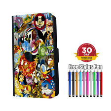 Mickey-Mouse's Friends Flip Phone Case for iPhone Samsung And Huawei
