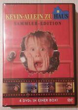 Kevin - Allein Zu Haus - Sammler-Edition - 4 DVDs Neu/Ovp