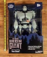 "NEW Iron Giant 14"" Action Figure : Walmart exclusive 2020 light sound"