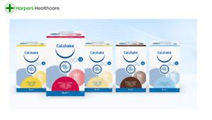 Calshake Nutritional Powder - 2 packs of 7 sachets (14 sachets) - CHOOSE FLAVOUR