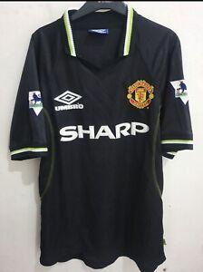 Manchester United Third Shirt 1998/99 Stam Size M