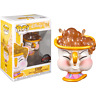 Beauty & the Beast - Chip with Bubbles US Exclusive Pop! Vinyl [RS]-FUN36513-...