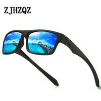 ZJHZQZ Polarized Mens Sunglasses Outdoor Sports Square Eyewear Driving Glasses