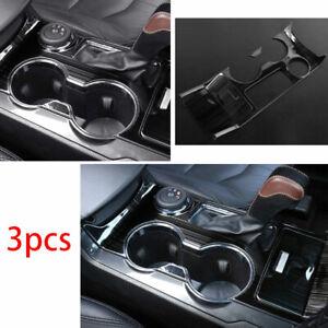 For Ford Explorer 2011-2019 Middle Console Gear Shift Frame Trim Black Titanium