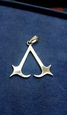 Assassins Creed Necklace Hand Made Sterling Silver 925 Original NEW