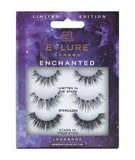 EYLURE EYELASHES ENCHANTED  LOOK BOOK MULTI PACK 3 PAIRS  LIMITED EDITION