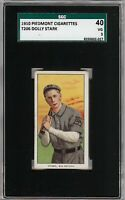 Rare 1909-11 T206 Dolly Stark Piedmont 350 Southern League SGC 40 / 3 VG