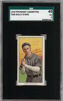 Rare 1909-11 T206 Dolly Stark Piedmont 350 Southern League SGC 40 / 3 VG