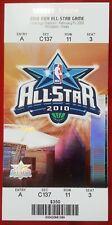 2010 NBA ALL-STAR GAME TICKET - Cowboys Stadium - Arlington,TX  SUN 2/14/10 MINT
