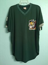1997 South Bend (Indiana) Silver Hawks Green Game Used Minor League Jersey #20