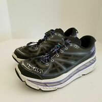 Hoka One One Stinson Lite Women's Size 10 Running Shoes Gray Purple
