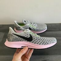 NIKE WOMENS AIR ZOOM PEGASUS 35 - UK 4.5/US 7/EUR 38 - GREY/BLACK (942855-011)