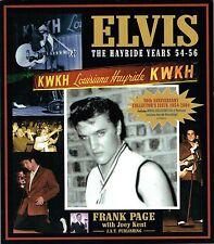 Elvis Presley - The Hayride Years 1954-1956 - Book with Bonus CD******