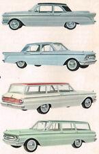 1960 MERCURY COMET Dealer Sales Brochure/Flyer/Catalog with Color Chart.....NOS!