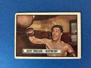 1951 Topps Ringside Rocky Marciano #32 HOF VG