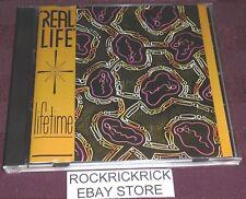 REAL LIFE - LIFETIME -10 TRACK RARE CD- (CURB VPCD 6835) AUSTRALIAN DISCTRONICS