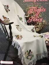 Honeycomb Afghan with Flights Of Fancy Chart