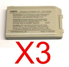 Lot Of 3 Sanyo Scp-18Lbps Batteries For Sanyo Scp-2300 Scp-200 Vi-2300