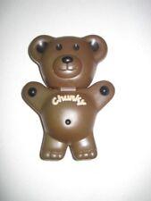 TEDDY GRAHAMS Chunky SNACK N GO Teddy Bear LUNCH BOX Storage CONTAINER Plastic