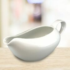 Apollo Gravy Boat 500ml Sauce Jug Porcelain Ceramic Serving Christmas Meal Xmas