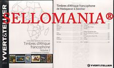 CATALOGO YVERT & TELLIER SELLOS AFRICA FRANCOFONA TOMO II PAISES M - Z      2019