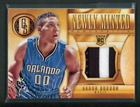 2014-15 AARON GORDON 11/25 JERSEY PATCH PANINI GOLD STANDARD NEWLY MINTED ROOKIE