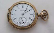 Waltham Pocket Watch Hunting Case Multi color 1900's for parts or repair