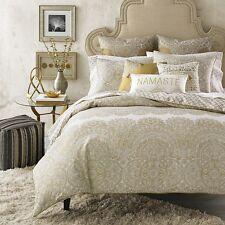 Sky Alana Bedding FULL / QUEEN Cotton Duvet Cover & Shams Set Gold D5430