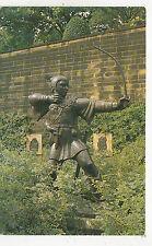 BF18134 robin hood statue nittingham ejno  sculpture art front/back image