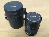 Konica Hexanon AR 135mm F3.5 Telephoto Lens for Konica Mount