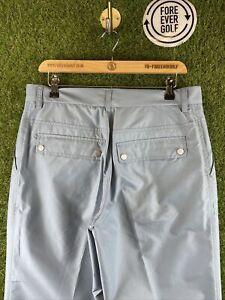 J.LINDEBERG, Mens W32 L32, Blue, Showerproof Golf Trousers,*EX COND*