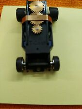 T-dash slot car chassis. Aurora, AFX, AW compatible. HO scale