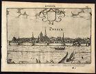 Antique Print-SNEEK-NETHERLANDS-Guicciardini-1613