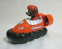 "Paw Patrol Racers Jumas Hovercraft Vehicle Orange 4"" X 3"" Plastic Moving Wheels"