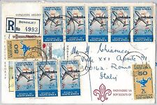 56579 -  AVIATION Airplanes - SOUTH AFRICA -  POSTAL HISTORY:  COVER 1974
