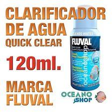 Clarificador Fluval Quick Clear 120 ml gran calidad acuario gambario pecera