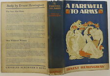 ERNEST HEMINGWAY A Farewell to Arms INSCRIBED FIRST EDITION