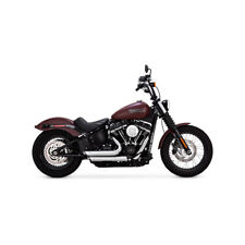 Vance & Hines ShortShots Staggered Chrom f. Harley-Davidson Streebob, Slim 18-19