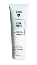 Victoria's Secret PINK NEON COAST Body Lotion 236ml Soothing Ginger Lily NEW IN