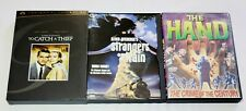 To Catch A Thief (2-Disc Set), Strangers On A Train & The Hand Dvd Lot