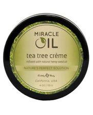 Earthly Body Miracle Oil Tea Tree Creme Cream 4 oz