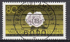 BRD 1983 Mi. Nr. 1163 gestempelt FRANKFURT AM MAIN , mit Gummi TOP! (15315)