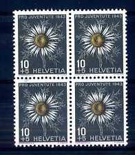 "SWITZERLAND - SVIZZERA - 1943 - ""Pro Juventute"". Flora alpina. R467"
