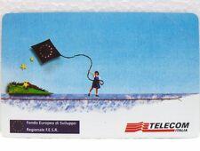 """SCHEDA TELEFONICA-PRIVATE RESE PUBBLICHE G PRP 330""""FONDO EUROPEO SVILUPPO""""-NUOVO"""
