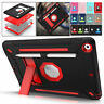 """For iPad 10.2"""" 7th Generation 2019 Shockproof Protective Rubber Stand Case Cover"""